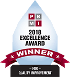 PBMI Quality Improvement Excellence Award