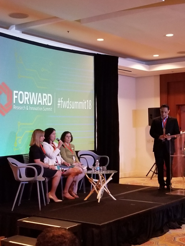 Speakers at the Forward summit