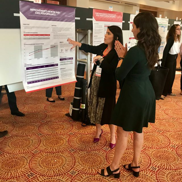 Abarca poster presentation at the Forward Summit