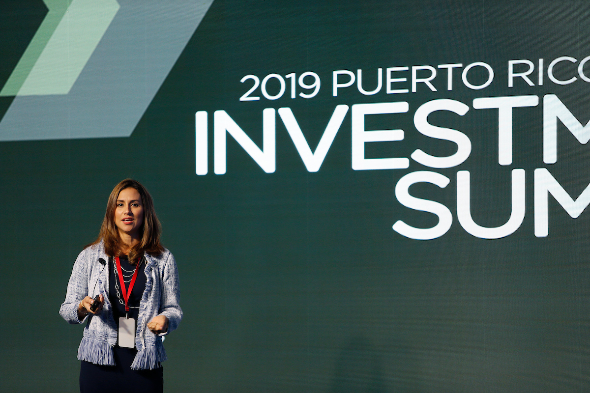 Adriana Ramirez investment summit presentation