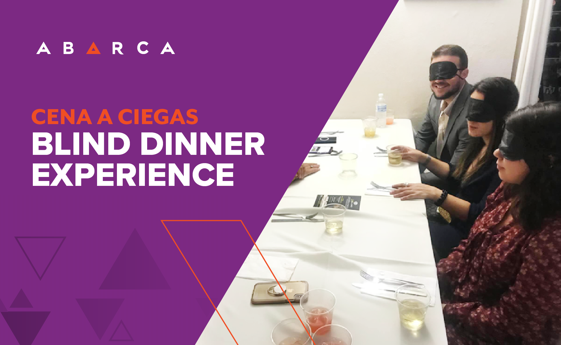 Abarcans Humbled by Cena a Ciegas Blind Dinner Experience