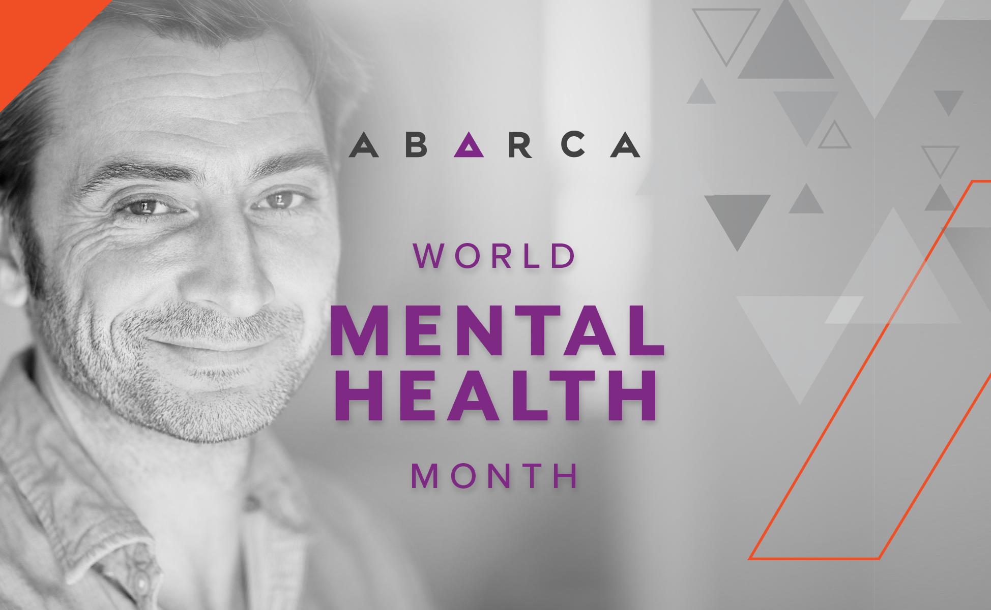 Abarca brings awareness to mental health_break the stigma_Mental Health Awareness Month