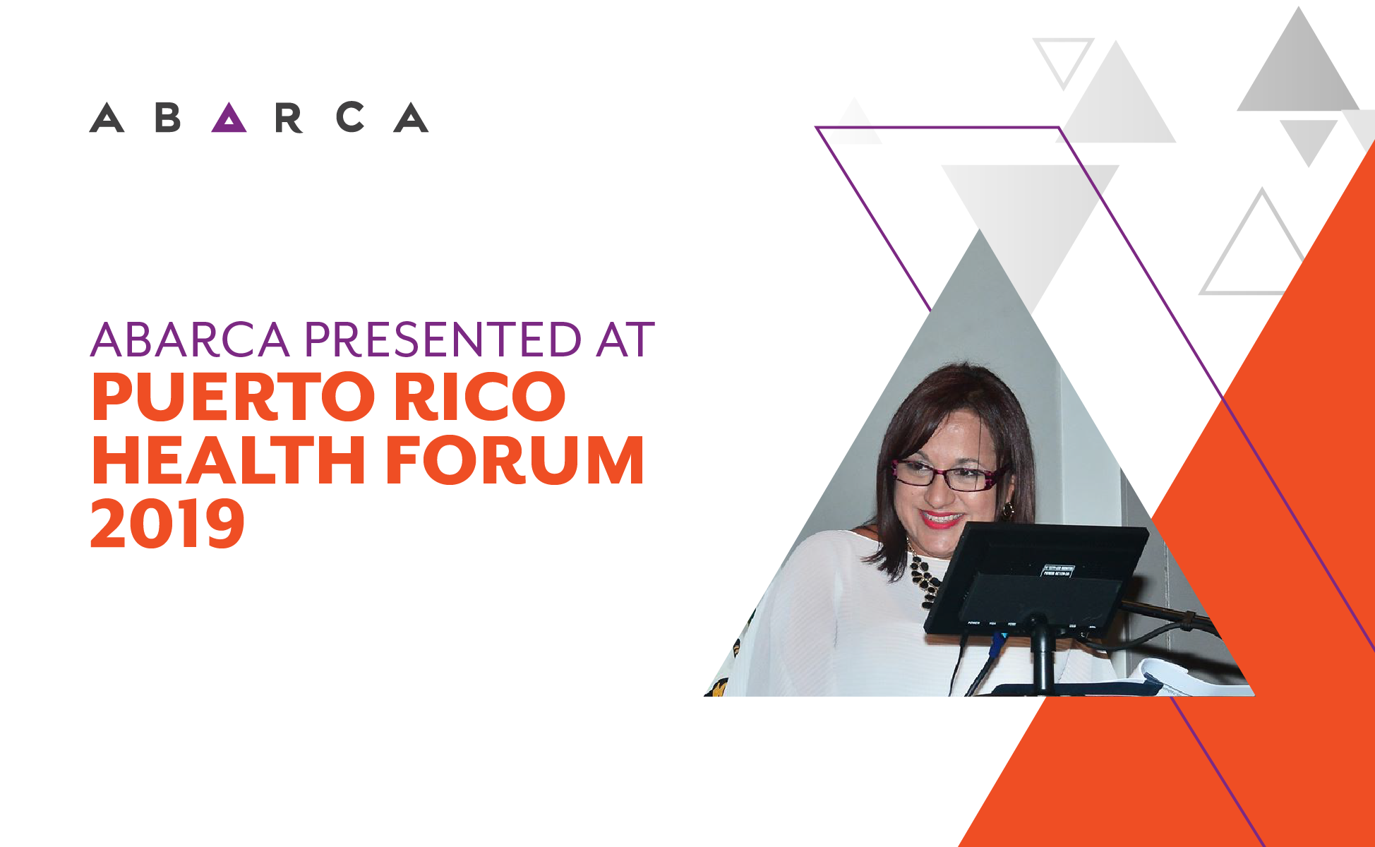 Abarca presented on Public Health Policy Trends at the 2019 Puerto Rico Health Forum