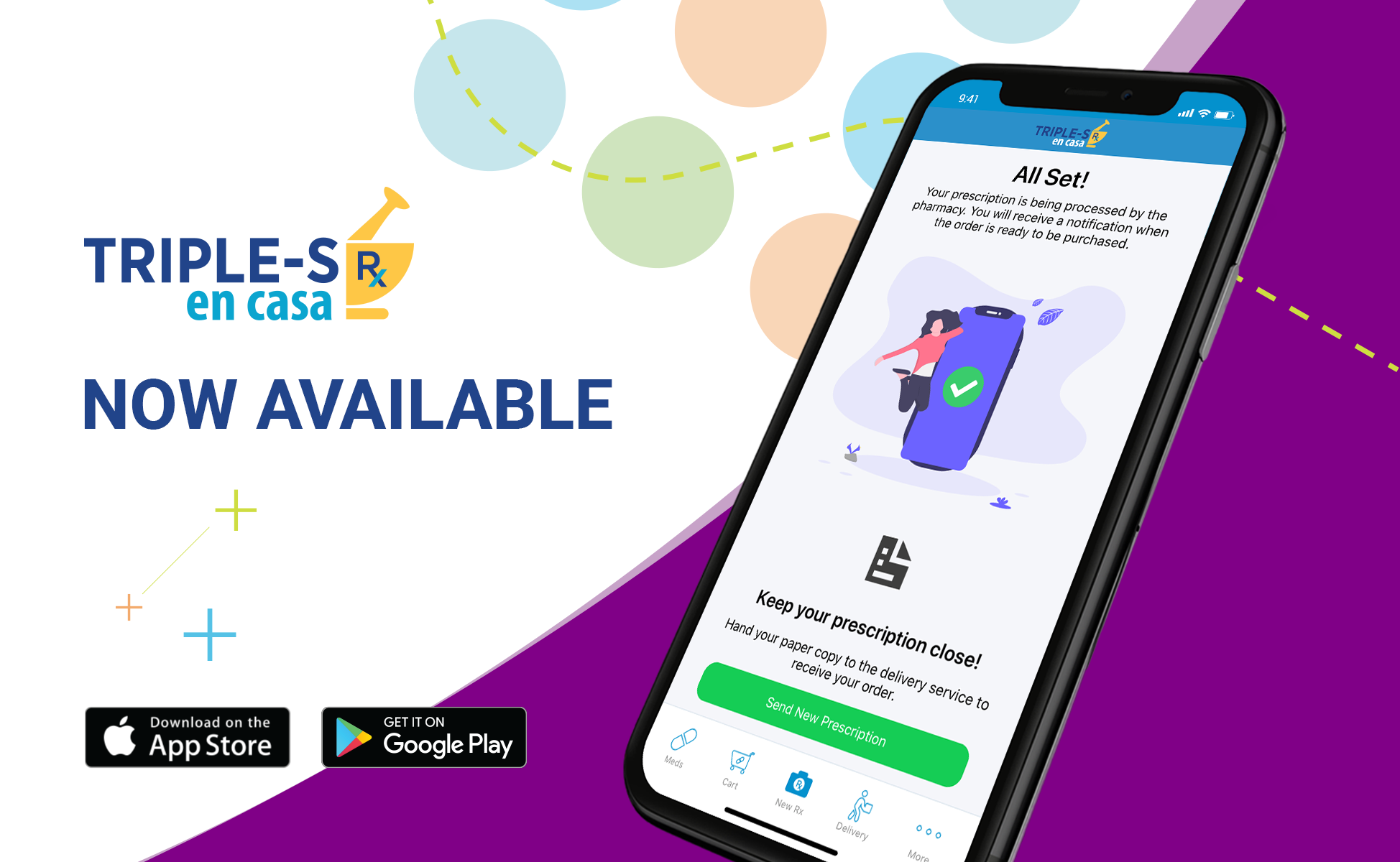 Abarca_Triple S en Casa Home Delivery Application Launch
