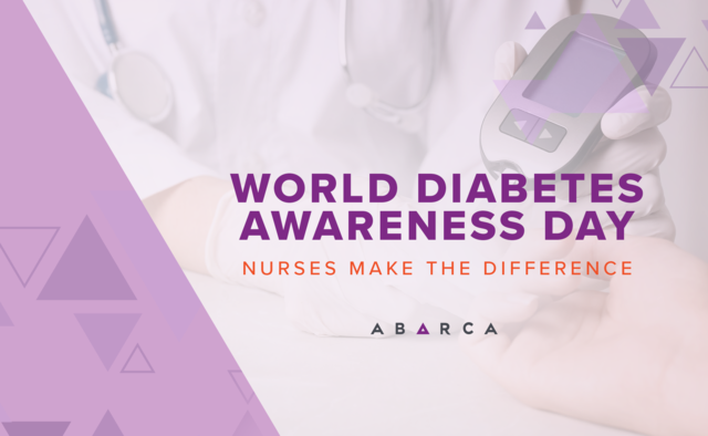 Abarca goes all in on World Diabetes Awareness Day: Nurses make the difference