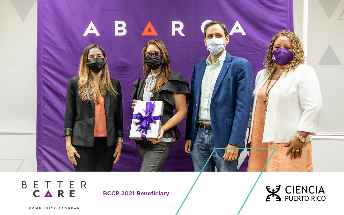 Abarca Health: Ciencia Puerto Rico was chosen as a BCCP beneficiary for the second year in a row