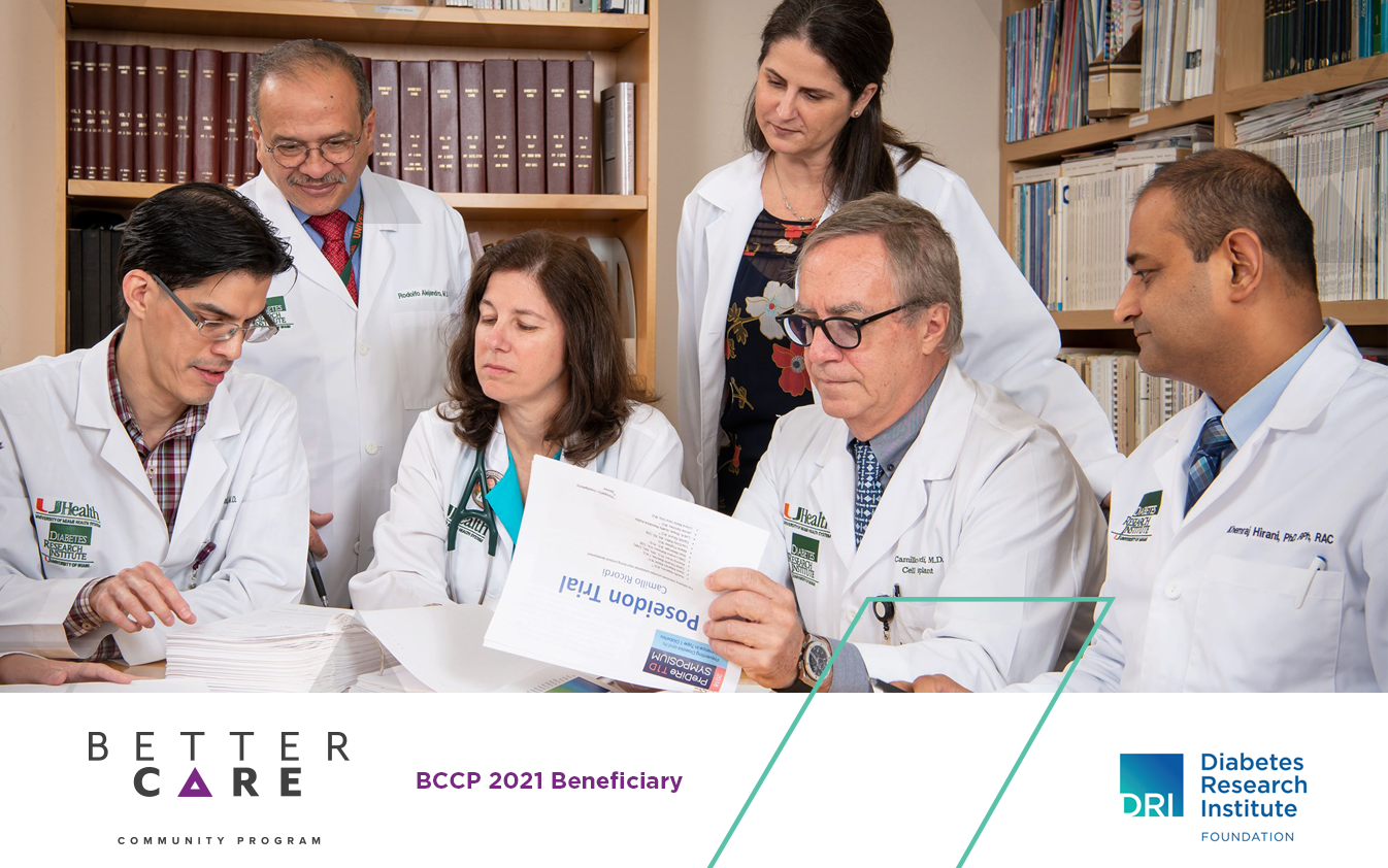 Abarca selects the Diabetes Research Institute Foundation for its second edition of the Better Care Community Program