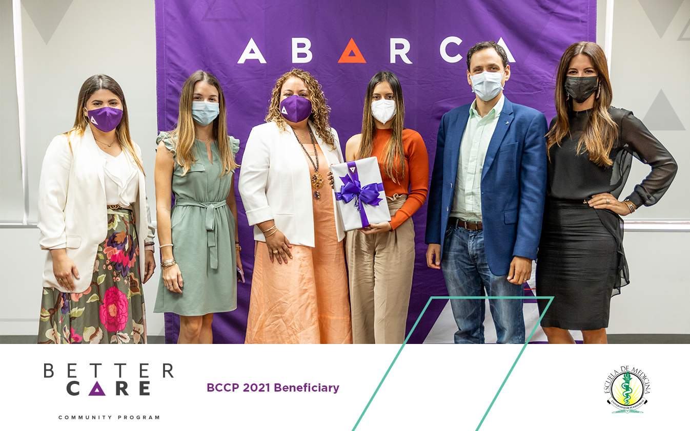 University of Puerto Rico Medical Sciences Campus Community was chosen as a beneficiary of Abarca's BCCP