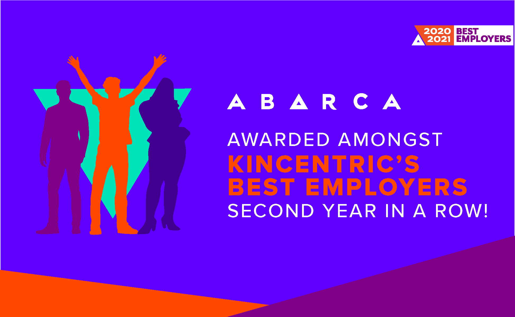 Abarca Health - Names Best Employers by Kincentric for the second year in a row